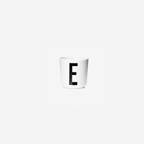 SIMPLE FORM. - Design Letters - Alphabet Melamine Cup E - Children's Tableware