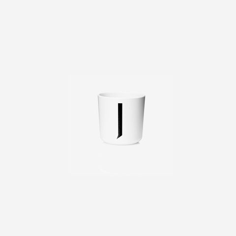 SIMPLE FORM. - Design Letters - Alphabet Melamine Cup J - Children's Tableware