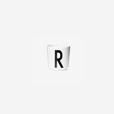 SIMPLE FORM. - Design Letters - Alphabet Melamine Cup R - Children's Tableware