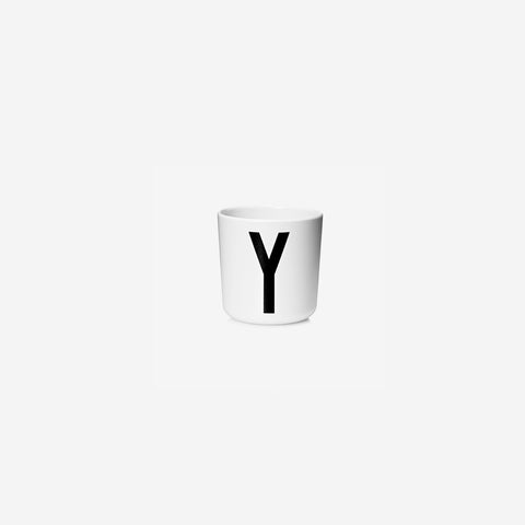 SIMPLE FORM. - Design Letters - Alphabet Melamine Cup Y - Children's Tableware