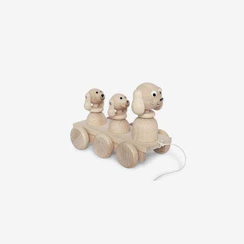 Ella and Frederik - Bertram + His Family - Wooden Toy  SIMPLE FORM.