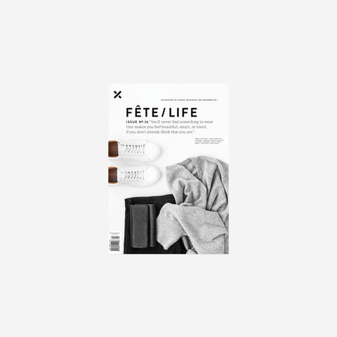 SIMPLE FORM. - Fete Press - Fete Volume 26 - Magazine