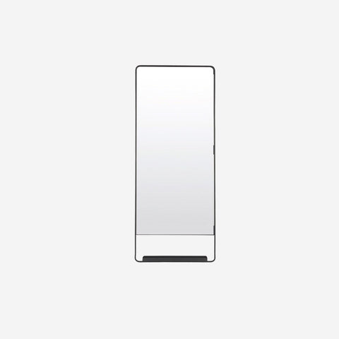 House Doctor - House Doctor Black Wall Vertical Mirror - Mirror  SIMPLE FORM.
