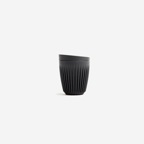 SIMPLE FORM. - Huskee - HuskeeCup + Lid Charcoal 230ml -