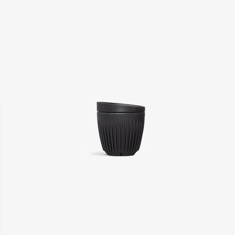 SIMPLE FORM. - Huskee - HuskeeCup + Lid Charcoal 6oz -