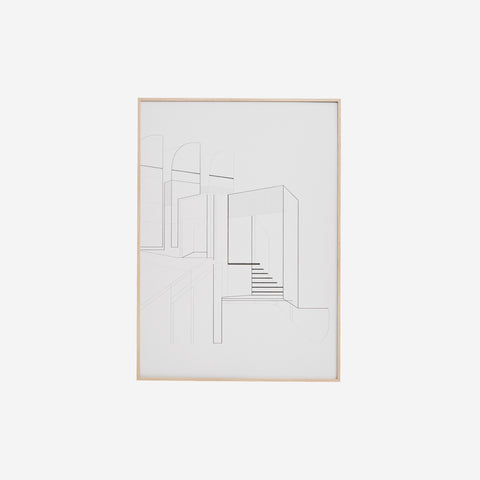 SIMPLE FORM. - Kristina Dam - Bauhaus Archive Print - Art Print