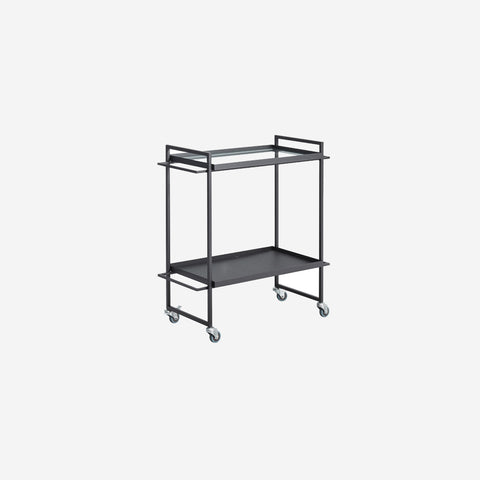 SIMPLE FORM. - Kristina Dam - Bauhaus Bar Trolley Black - Trolley