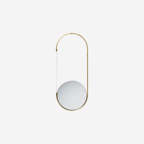 SIMPLE FORM. - Kristina Dam - Brass Mirror Mobile - Design object