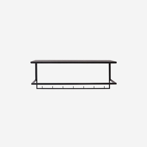 SIMPLE FORM. - Kristina Dam - Grid Coat Hanger Rack Black - Design object