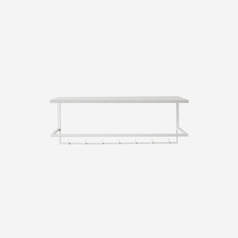 SIMPLE FORM. - Kristina Dam - Grid Coat Hanger Rack White - Design object