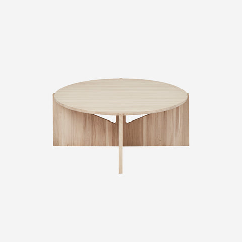 SIMPLE FORM. - Kristina Dam - Natural Oak XL Table - Coffee Table