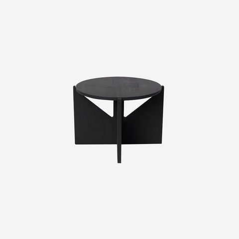 SIMPLE FORM.-Kristina Dam Wooden Table Black Table