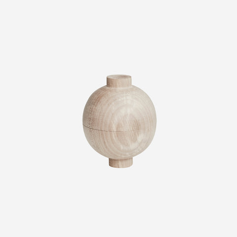 SIMPLE FORM. - Kristina Dam - Wooden Sphere Oak XL - Design object