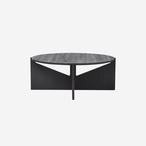 SIMPLE FORM.-Kristina Dam Wooden XL Table Black Coffee Table