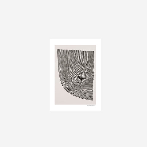 SIMPLE FORM. - Leise Dich Abrahamsen - Curves Print - Art Print