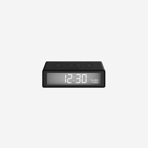 SIMPLE FORM. - Lexon - Flip Clock Black - Clock