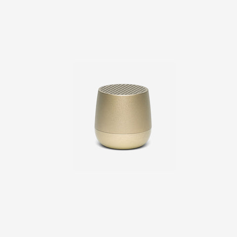 SIMPLE FORM. - Lexon - Mino Speaker Gold - Speakers