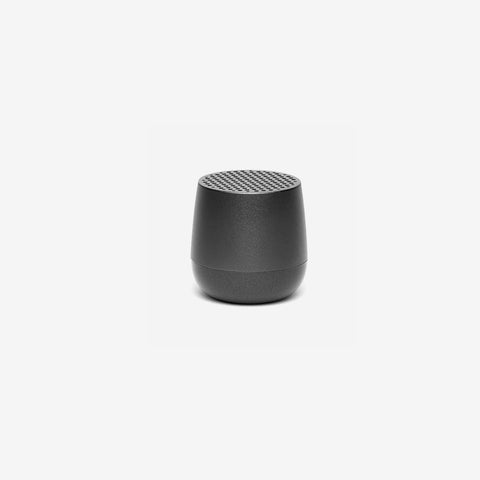 SIMPLE FORM. - Lexon - Mino Speaker Gun Metal Grey - Speakers
