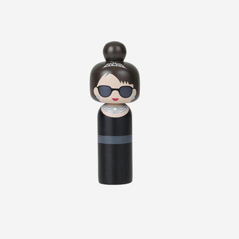 SIMPLE FORM. - Lucie Kaas - Kokeshi Doll Audrey - Wooden Figurine