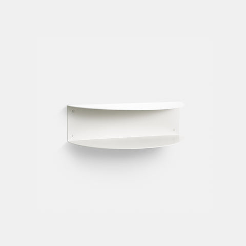 SIMPLE FORM. - Made of Tomorrow - Fold Wall Shelf White - Wall Shelf