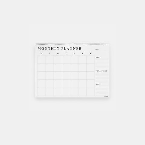 SIMPLE FORM. - Made of Tomorrow - Monthly Wall Planner - Planner