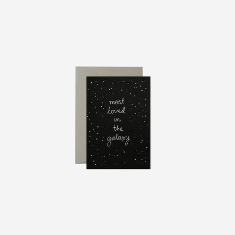 SIMPLE FORM. - Me and Amber - Card In The Galaxy - Greeting Card
