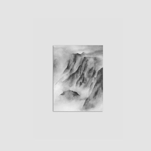 SIMPLE FORM. - Melissa Selmin - Mountain Mist Print - Print