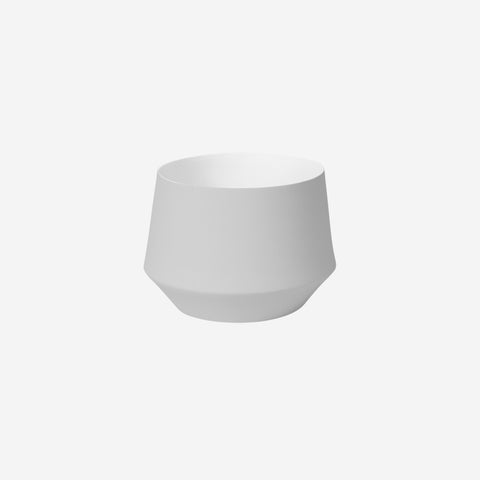 SIMPLE FORM. - Middle of Nowhere - Samso Planter Large Grey - Pot