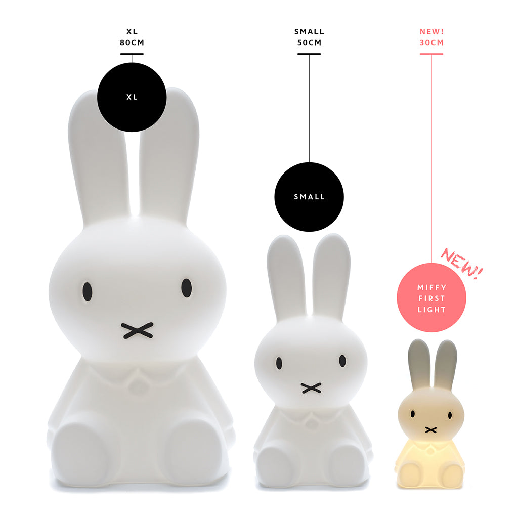 Mr Maria Miffy Lamp First Light Rechargeable