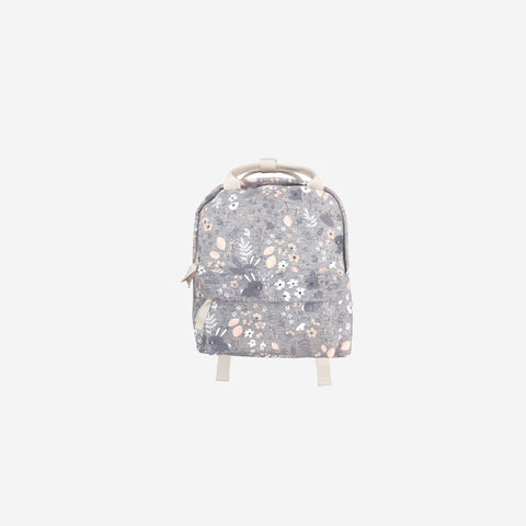 SIMPLE FORM. - Mister Fly - Bunny Grey Floral Back Pack - Children's Bag