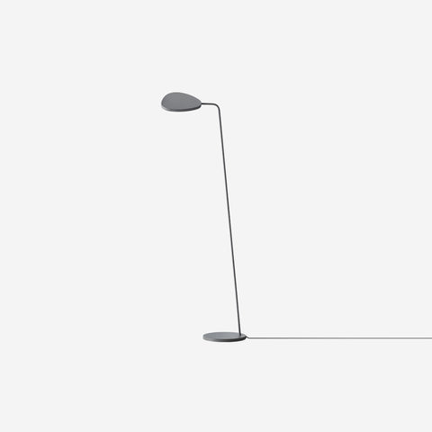 SIMPLE FORM. - Muuto - Leaf Floor Lamp Grey - Floor Lamp