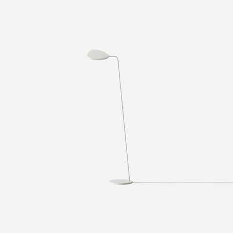 SIMPLE FORM. - Muuto - Leaf Floor Lamp White - Floor Lamp
