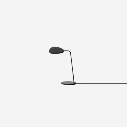 SIMPLE FORM. - Muuto - Leaf Table Lamp Black - Table Lamp