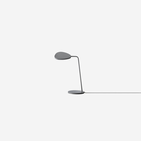SIMPLE FORM. - Muuto - Leaf Table Lamp Grey - Table Lamp