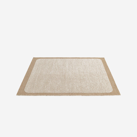 SIMPLE FORM. - Muuto - Pebble Rug Burnt Orange 300x200cm - Rug