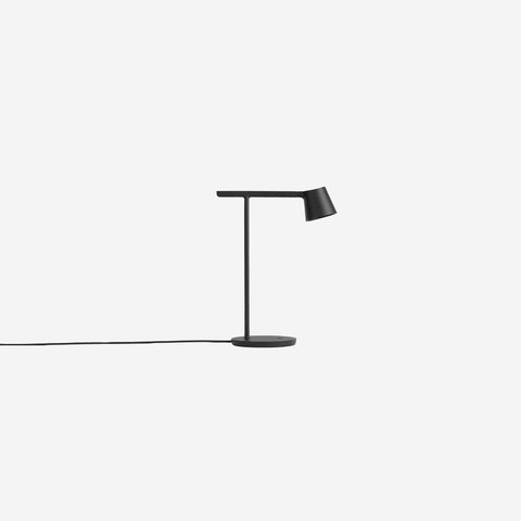 SIMPLE FORM. - Muuto - Tip Table Lamp Black - Table Lamp