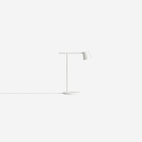 SIMPLE FORM. - Muuto - Tip Table Lamp White - Table Lamp
