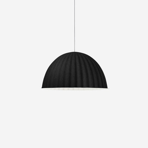 SIMPLE FORM. - Muuto - Under The Bell Pendant Large Black - Pendant