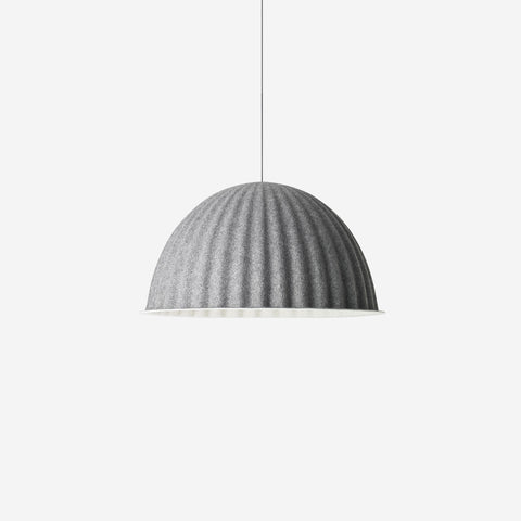 SIMPLE FORM. - Muuto - Under The Bell Pendant Large Grey - Pendant