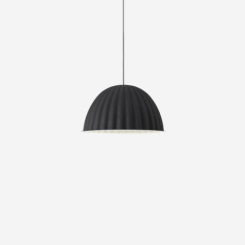 SIMPLE FORM. - Muuto - Under The Bell Pendant Small Black - Pendant