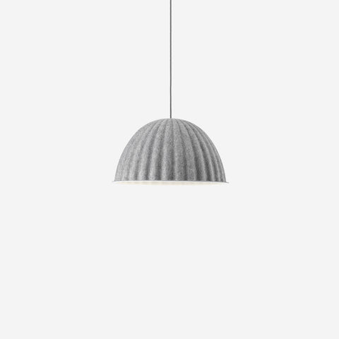 SIMPLE FORM. - Muuto - Under The Bell Pendant Small Grey - Pendant