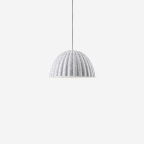 Muuto - Under The Bell Pendant Ø55 White Melange By Muuto - Pendant  SIMPLE FORM.