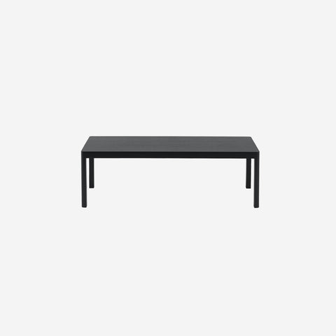 SIMPLE FORM. - Muuto - Workshop Coffee Table Bench Black - Coffee Table