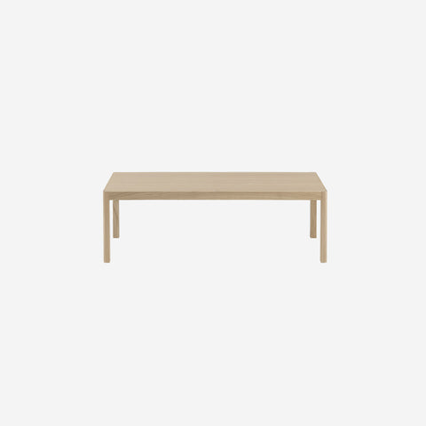 SIMPLE FORM. - Muuto - Workshop Coffee Table Bench Oak - Coffee Table