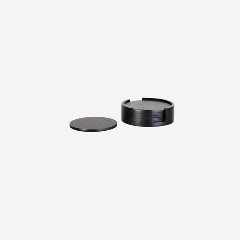 SIMPLE FORM. - Nel Lusso - Tokyo Coaster Set Black - Coaster