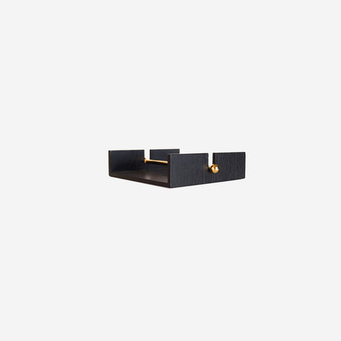 SIMPLE FORM. - Nel Lusso - Tokyo Napkin Holder Black - Napkin Holder
