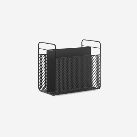 SIMPLE FORM. - Normann Copenhagen - Analog Magazine Rack Black - Magazine Holder