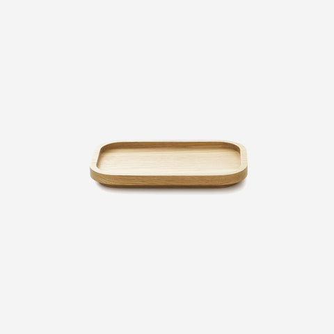 SIMPLE FORM. - Normann Copenhagen - Astro Oak Tray Large - Tray