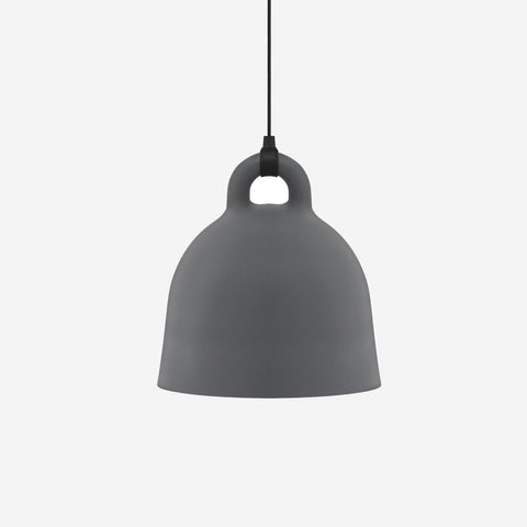 SIMPLE FORM. - Normann Copenhagen - Bell Pendant Grey Large - Pendant