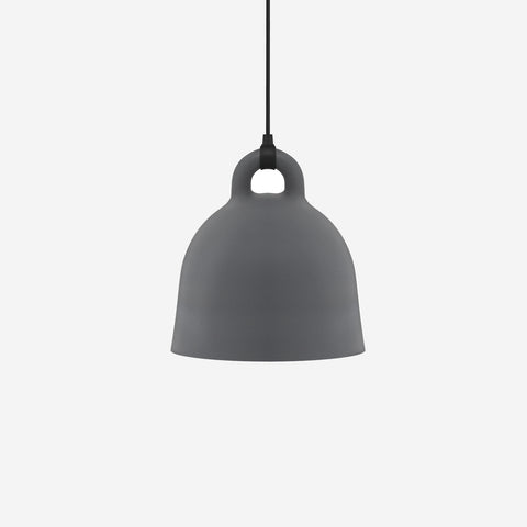 SIMPLE FORM. - Normann Copenhagen - Bell Pendant Grey Medium - Pendant